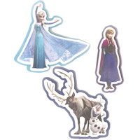 Disney Frozen Foam Wall Decor - Set of Three
