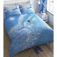 Ocean Surfer King Size Bedding
