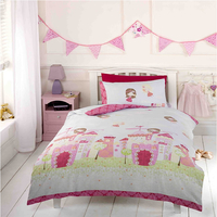Fairy Castle Toddler / Junior Bedding Bundle 4.5 Tog 120 x 150 cm