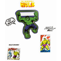 Marvel Avengers Hulk Door Stickers