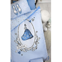 Cinderella Cameo, Girls Single Bedding - 100% Cotton