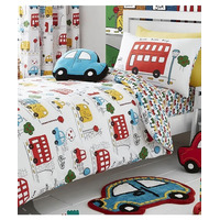 Catherine Lansfield Transport Single Duvet Set