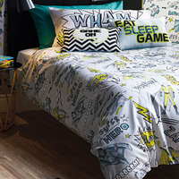 Superhero Single Bedding