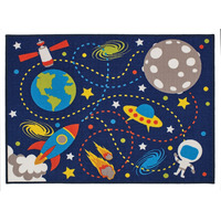 Moon Mission Rug 100 x 130 cm
