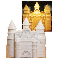 3D Ceramic Night Light - Fairy Castle