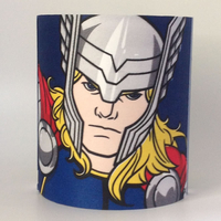 Marvel Avengers Medium Fabric Light Shade - Hulk / Thor