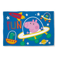 George Pig Fleece Blanket - Planets