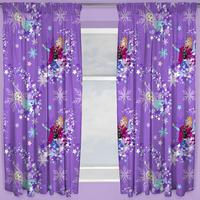 Disney Frozen Curtains 54s - Transparent