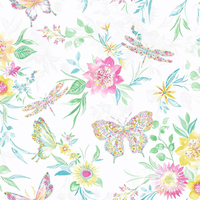 Watercolour Butterfly Wallpaper