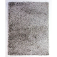 Dazzle, Grey Rug - 80 x 150 cm