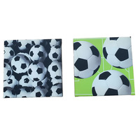 Football Canvas Art - Set of Two