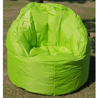 Large, Garden / Outdoor Bean Bag / Seat - Lime Green