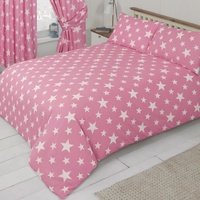 White Star, Pink Single Bedding