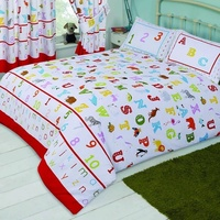 ABC, Alphabet Toddler Bedding