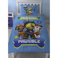 Paw Patrol Single Bedding - Spy