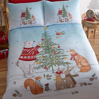 Night Before Christmas Super King Size Bedding