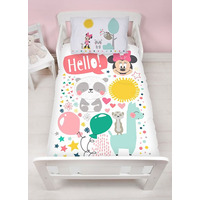 Minnie Mouse Toddler Bedding - Friends