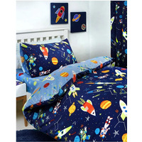 Supersonic, Space Toddler Bedding