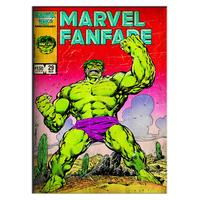 Incredible Hulk Canvas, 70 x 50 cm