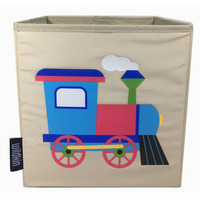 Train, Fabric Storage Cube