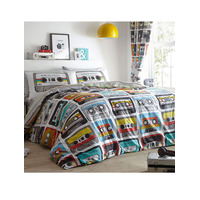 Retro Cassettes Single Bedding Set