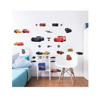 Disney Cars Wall Stickers, Pack of 32