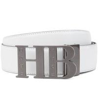 BOSS Golf Belt - Balwinno Reversible - White - Navy FA19