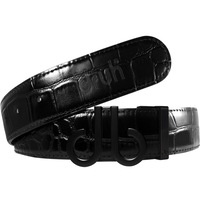 Druh Golf Belt - Crocodile Tour Leather - Triple Black 2020