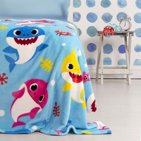 Baby Shark Fleece Blanket - Underwater