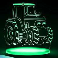 Farm Tractor Night Light