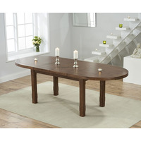 Mavis Dark Oak Extending Table