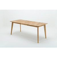 Erin 140cm Oak Extending Dining Table