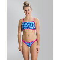 Speedo Flipturns Flip Reverse Two Piece Swimsuit