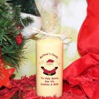 Santa's Treats Candle