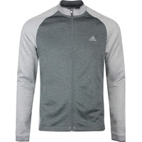 adidas Golf Jumper - Midweight Textured FZ - Grey Three SS20