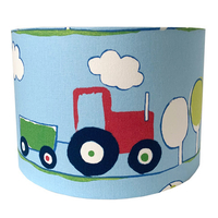 Red Tractor Large Fabric Ceiling Shade