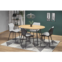 Costa 120cm Oval Golden Oak Extending Dining Table