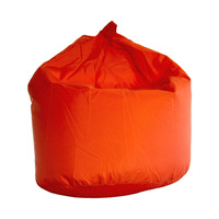 Large, Outdoor Water Resistant Bean Bag - Orange