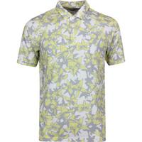 PUMA Golf Shirt - Twelve Polo - Yellow Iris Print LE SS20