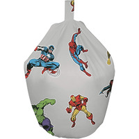 Marvel Avengers Comic Bean Bag - Grey