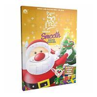 Plamil - So Free Vegan Smooth Salted Caramel Advent Calendar (110g)