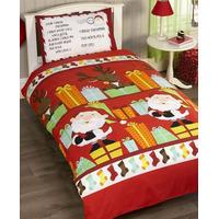 Christmas Toddler Bedding - Santas List