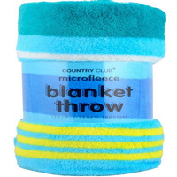 Super Soft Blanket Throw - Stripes