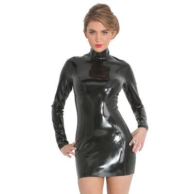 Midnight Latex Dress