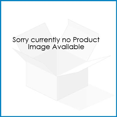 Orange Beaded Double Hair Comb