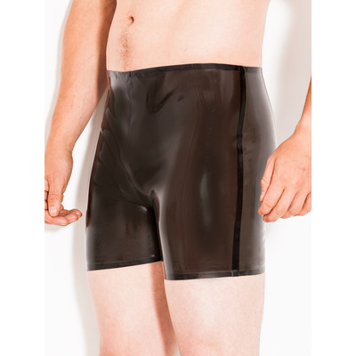 Latex Boxer Shorts St Black