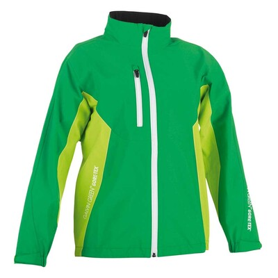 Galvin Green Junior Richie Paclite Waterproof Golf Jacket Green