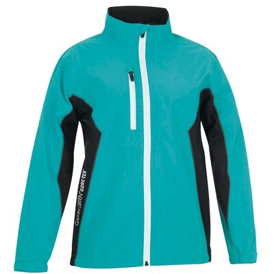 Galvin Green Junior Richie Paclite Waterproof Golf Jacket Turquoise