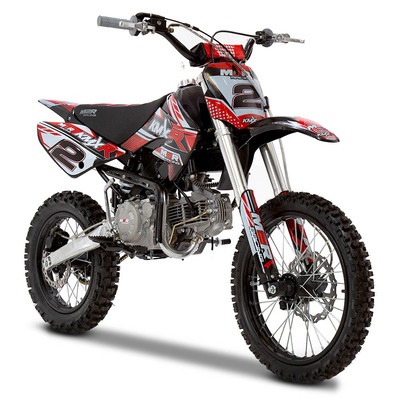 M2R Racing KM160MX 160cc 17/14 86cm Red Dirt Bike