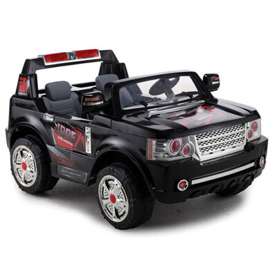 FunBikes Range Rover Style Black Electric Ride 4X4 SUV